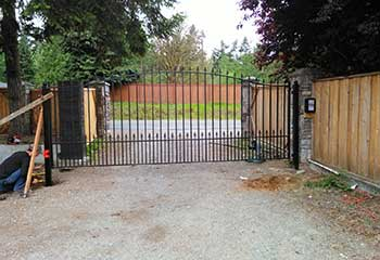 Queens Sliding Gate Installation